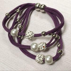 Jewelry - Braided Leather Bracelet NEW
